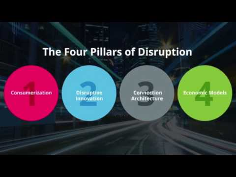 The four monster shifts of disruption in healthcare