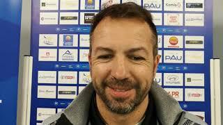 Réaction de Benoît Cauet après Pau FC - Concarneau (0-1)