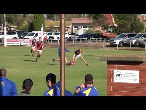 Rd 4   North Shore vs Newtown Chilwell Centre Bounces