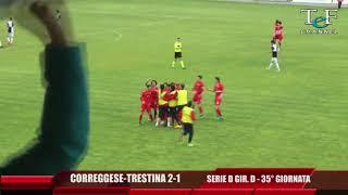 Serie D Girone D Correggese-Trestina 2-1