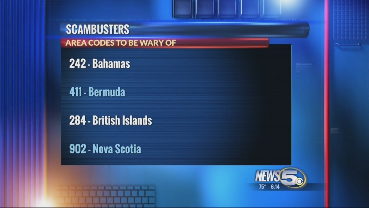 Scambuster: Don\'t Answer Calls From These Area Codes - YouTube