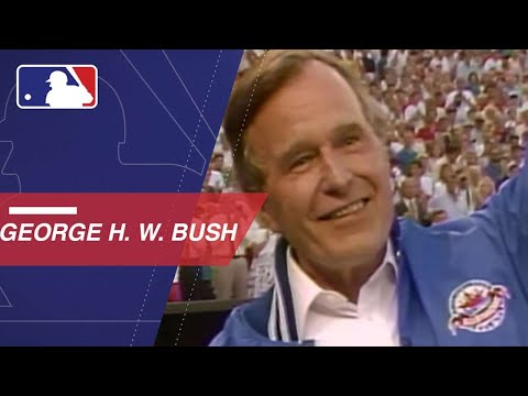 MLB remembers the life of President George H.W. Bush