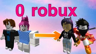 HOW TO LOOK COOL/ GET FREE CLOTHES ON ROBLOX !