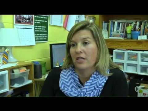 GOLDEN APPLE: Melanie Commander of Chattanooga School for Li