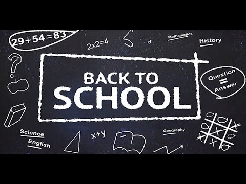 after effects template back to school youtube. Black Bedroom Furniture Sets. Home Design Ideas