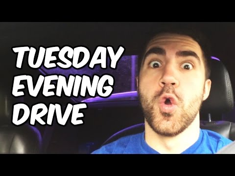 Tuesday Evening Drive - Where Was Yesterday's DBX Video? Favorite Power Ranger