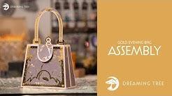SVG File - Gold Evening Bag - Assembly Tutorial