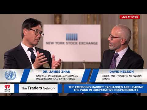 James Zhan, Director of Investment & Enterprise of UNCTAD Interviewed on The Traders Network SSE