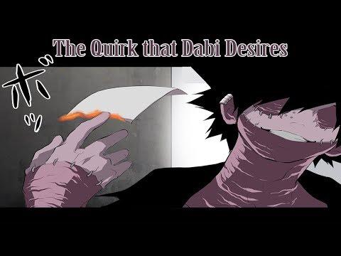 [Boku No Hero Academia Comic Dub] The Quirk that Dabi Desires