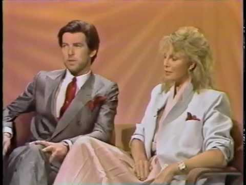 Today: Pierce Brosnan & Cassandra Harris 1984