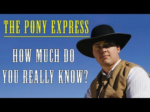 The True History Of The Pony Express