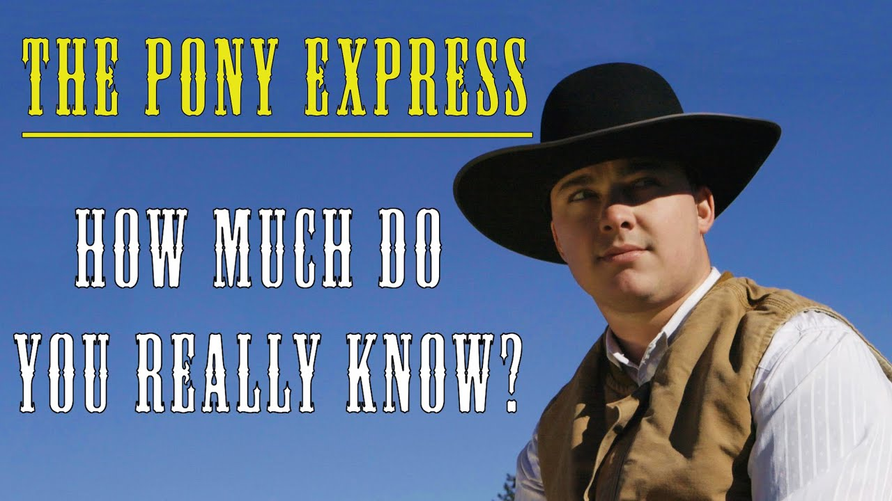 The True History of The Pony Express (ft. Christopher Corbett)