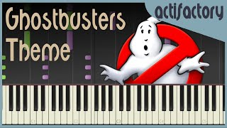 Ghostbusters Theme | Synthesia Version | actifactory