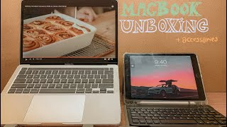 2020 13' Macbook Pro unboxing + accessories