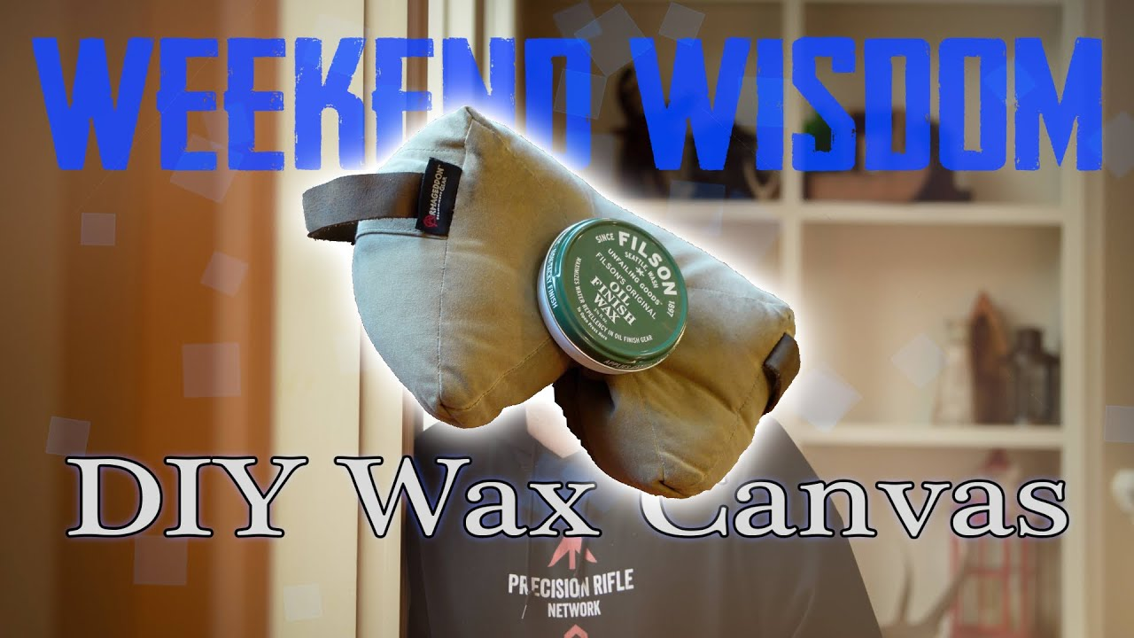 DIY Waterproof Material | Wax Canvas Gamechanger