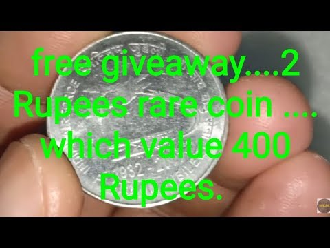free-giveaway-2-rupees-rare-coin,-value-rs.-400/-- -rircnc- 