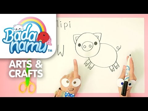 Badanamu Arts & Crafts EP8: Let's Draw Mipi