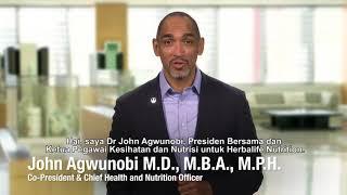 Dr John Agwunobi, talks about balance nutrition and active lifestyle in Ramadan