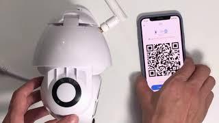 Ip Wifi Camera Ngoài Trời 1080P Xoay 320 Độ, Giám Sát An Nịnh, Hồng Ngoại, Tốc Độ Cao...