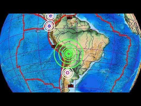 DEEP 6.3 Earthquake Strikes Cliza, Bolivia / Stay Aware Cascadia/San Andreas Fault