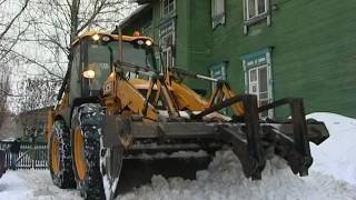 Уборка территории города от снега(, 2017-01-27T13:08:56.000Z)