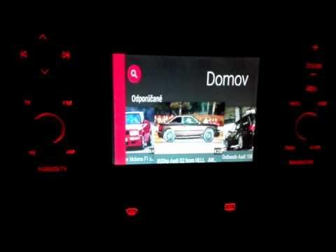 Audi Navigation Plus RNS-D Android