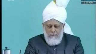 Проповедь Хазрата Мирзы Масрура Ахмада, (04-06-10) часть 2