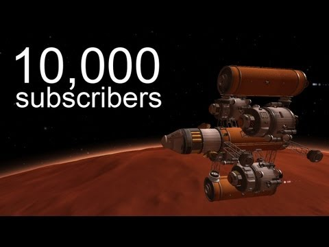 10,000 Subscribers: InterPlanetary Fleet