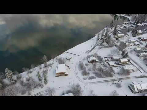 Whitefish Montana Aerial Montage