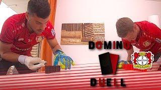 Volland verzweifelt!   Domino-Duell bei Bayer 04   Kevin Volland vs. Lars Bender