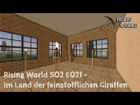 Rising World S2E021 - Im Land der feinstofflichen Giraffen - JIW Games - Deutsch German