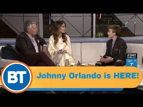 Canadian Teen Sensation Johnny Orlando On BT!