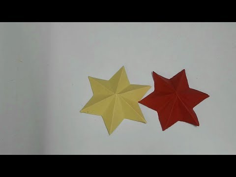 How to make simple & easy paper star  (DIY Paper Craft Ideas).
