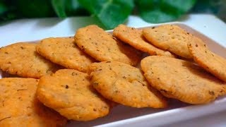 Market Ki Tarah Khasta Namkeen Methi Materi | Methi Materi | Snack Recipe | Cookwithlubna