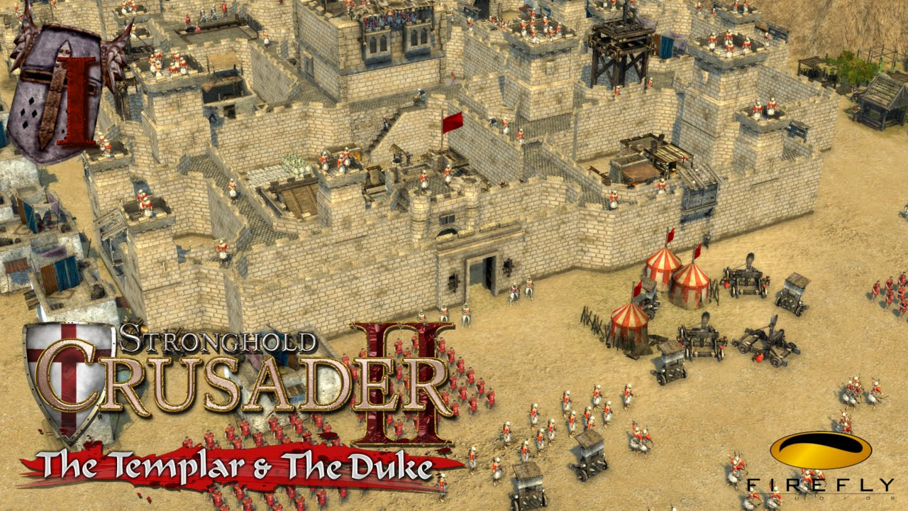 Stronghold Crusader II: The Templar & The Duke 2015 pc game Img-1