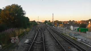 ( Cab Ride 35 ) Wimbledon to South West Sidings via Pigs Hill, British Rail Freight...