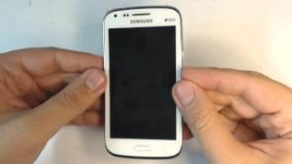 Samsung Galaxy Core I8262 - How to reset - Como restablecer datos de fabrica