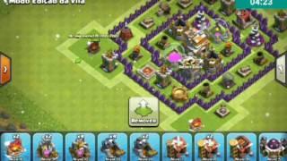Clash of Clans layout CV 7/ Edição dé vila CV 7 (Clash of Clans) layout/Edição de vila CV 7