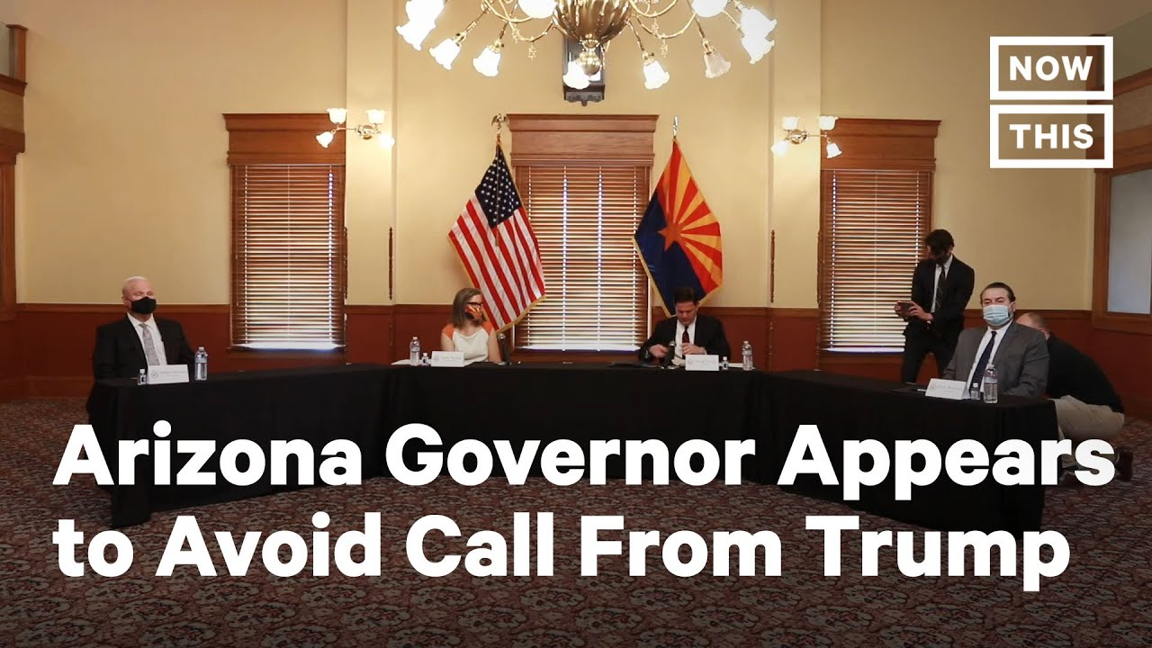 Arizona Gov. Dodges Trump Call While Certifying Election Results | NowThis