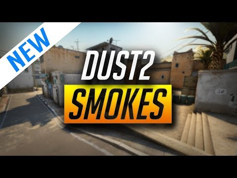 BEST DUST 2 SMOKES FOR 2018 (CSGO)
