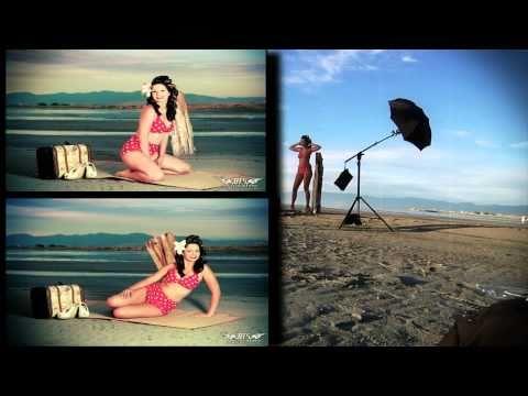 Beach Pinups: A Strobist Tutorial