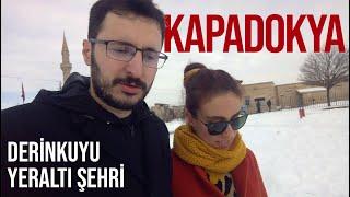 Yeraltı Şehrinde Kaybolduk! | Kapadokya 3. Gün | DERİNKUYU YERALTI ŞEHRİ | Gezi Günlükleri 5