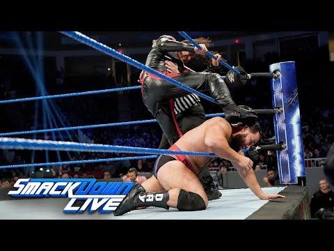 Shinsuke Nakamura vs. Rusev - United States Championship Match: SmackDown LIVE, Dec. 25, 2018