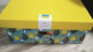 Беби бокс 2019 Украина. Baby box. Распаковка и обзор.