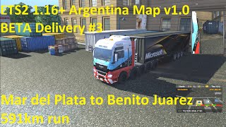 ETS2 1.16+ Argentina Map v1.0 BETA Delivery #3