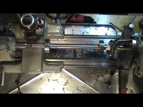 Two Collar Lathe Alignment Test