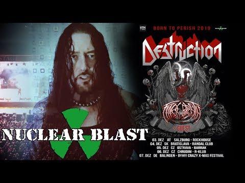 DESTRUCTION - 'Born To Perish' Winterslaughter 2019 (OFFICIAL TOUR TRAILER)