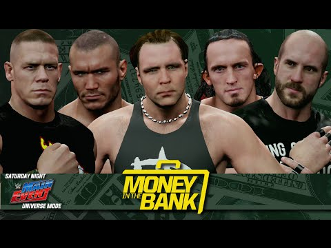 WWE 2K15 Universe Mode - SNME Episode 21: Money in the Bank