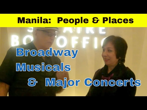 Broadway Musicals & Major Concerts -- Sandy Hontiveros at Solaire Theater