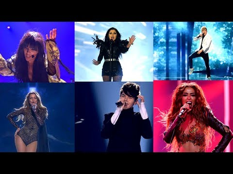 Eurovision. My Top 13 Sacha Jean Baptiste Staging.